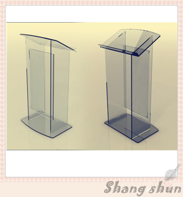 Detachable Acrylic Podium Stands Acrylic Pulpit Acrylic Lectern Modern Acrylic Podium modeling mixed species forest stands