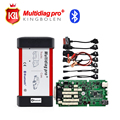Alta Calidad A + + Multidiag Pro Bluetooth + Tarjeta de 4 GB + Coche TCS PRO auto escáner para Coches/Camiones TCS 2014. R3 NO keygen