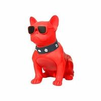 Bulldog Rivet Dog Strap 360 Degree Rotating Center Bulldog Wireless Bluetooth Speaker Wireless Audio Equipment