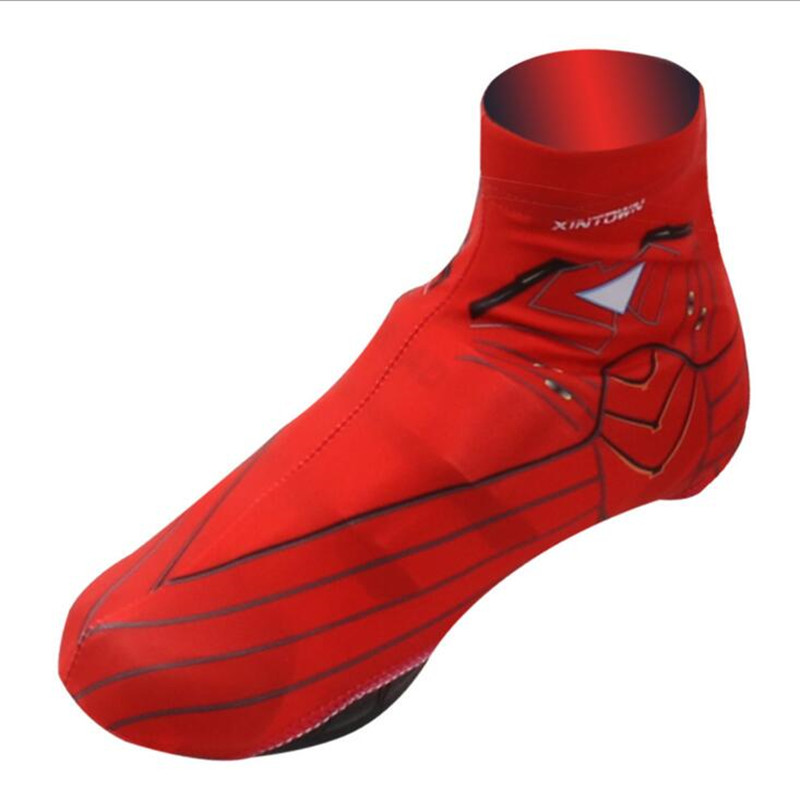 Q259 Cycling red Sport shoes shoe covers outdoor sports shoe covers Dustproof antifouling bicycle equipment