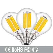 1pcs Super Bright Retro LED Filament Light lamp E27 E14 E40 6W 9W 18W 24W 110V / 220V G45 A60 Clear(China)