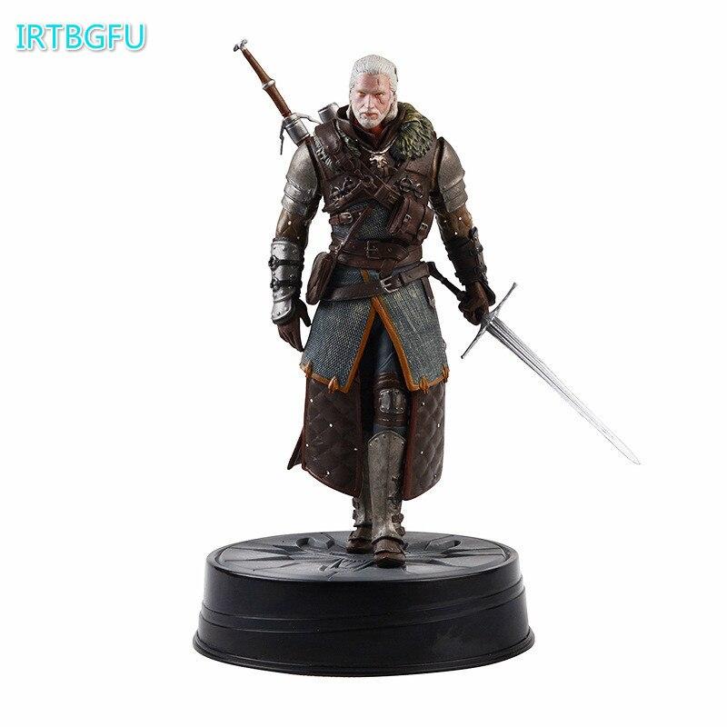 Cheval noir Deluxe The Witcher 3: chasse sauvage Geralt grand-maître Ursine Witcher PVC Figure Action jouet figurines à collectionner Figurine