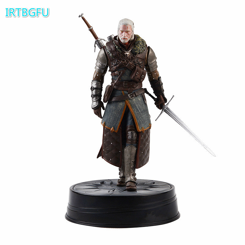 New Arrival Dark Horse Deluxe The Witcher 3 Wild Hunt Geralt Grandmaster Ursine Figure the witcher