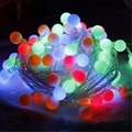 50 LED String Light Christmas 6M Ball Shaped Wedding party Festival LED Fairy Light Battery Power Curtain Home Celebration Decor
