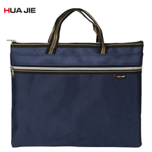 Portable Casual Business Briefcase Office Zipper Document Bag Storage Bag Filing Products Simple Big Capacity File Bag EN5002 xiaobaomao a4 commercial business document bag tote file folder filing meeting bags pocket office bags pocket large capacity