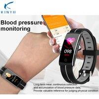 Blood Pressure Sleep Monitor Fitness Tracker Smart Wristband Smart Watch Waterproof SmartBand Smart Bracelet For Friends Family