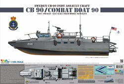 Модель тигра 1/35 6293, армейская лодка 90/CB90