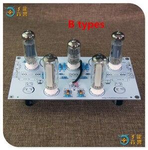 Image 5 - 6N2/6N1 6P1 3W * 2 stereo güç amplifikatörü bitmiş kurulu içerir elektronik tüp amplifikatör kurulu ile 6E2 seviye göstergesi