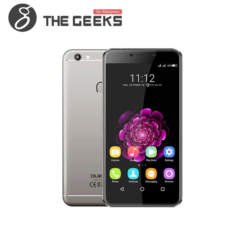 Цена за Оригинал Oukitel U15S Мобильного Телефона MTK6750T Окта основные 4 ГБ RAM + 32 ГБ ROM Android 6.0 5.5 Дюймов FHD Экран 13.0MP 4 Г LTE смартфон