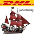 2017 LEPIN 16009 1151 Unids Piratas Del Caribe de la Reina Anne Reveage Kits de Edificio Modelo Bloques Juguetes Para Niños regalo 4195