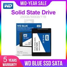 Western Digital Blue 250 ГБ/500 Гб/1 ТБ WD 3D NAND Внутренний твердотельный накопитель SSD жесткий диск SATA 3,0 6 ГБ/сек. 2,5 »для ПК компьютер