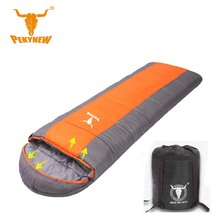 Pekynew 2017 outdoor camping sleeping bag envelope type waterproof hiking ultra light ultra small size 3M collodion cotton bag