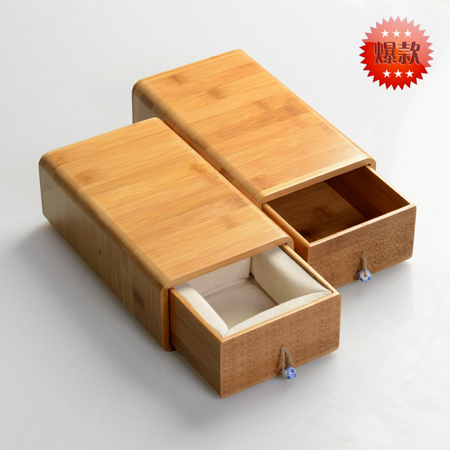 Merveilleux Bamboo Storage Box Jewelry Tea Leaf Box Collection
