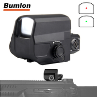 Tactical LCO Red Dot Sight Scope Reflex Sight With 20mm Rail Mount For Hunting Airsoft HT5