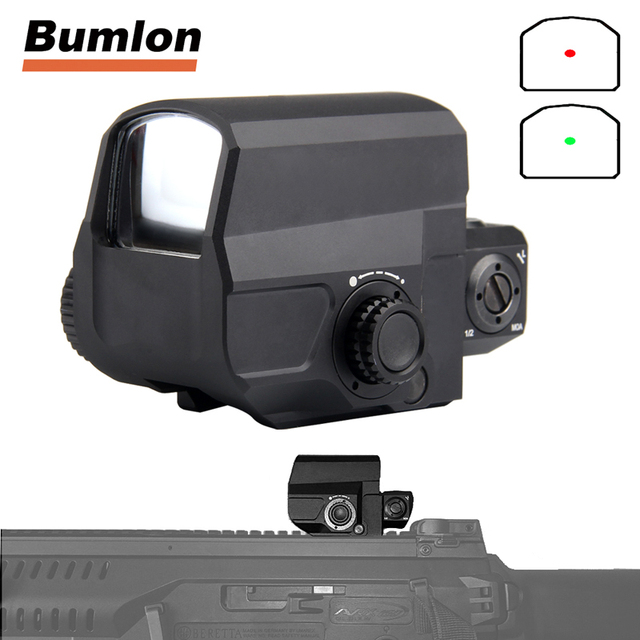Tactical LCO Red Dot Sight Scope Reflex Sight with 20mm Rail Mount for Hunting Airsoft HT5-0038