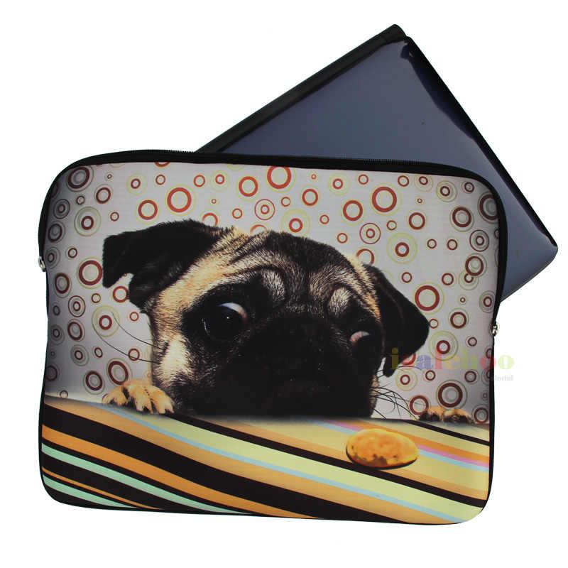 Bunga Tas lengan laptop Notebook Kasus Untuk wanita Untuk MacBook Air/Pro/Retina 7.9 10 11.6 13 13.3 15.4 15.6 17.3 inch Laptop tas