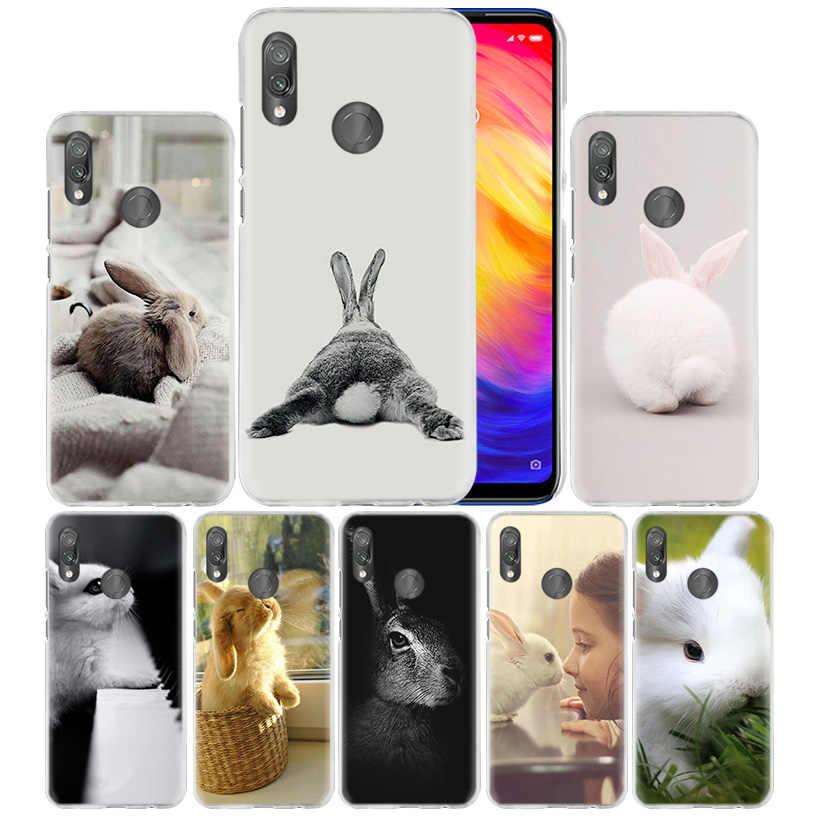 Bianco sveglio Del Bambino Conigli Caso per Caso Xiaomi Redmi Nota Nota 8 8T 7 9S 9 K30 Pro Zoom mi 9T A3 CC9 10 Lite 5G X2 F1 Dura Del Telefono Della Copertura