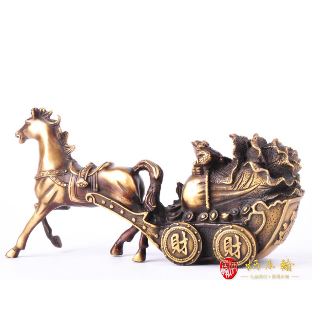 Chen Bing Han Opening Ceremony Copper Caiyunhengtong Home Decoration New House  Decoration Gift Ideas Lucky