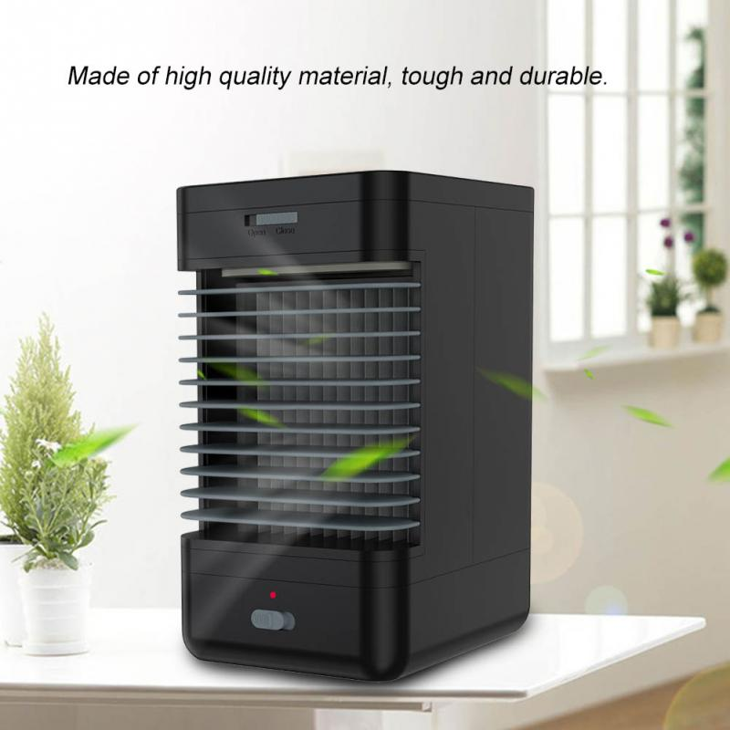 220v Portable Air Conditioner Mini Fan Humidifier System Wireless Cooler Eu Plug-in Fans