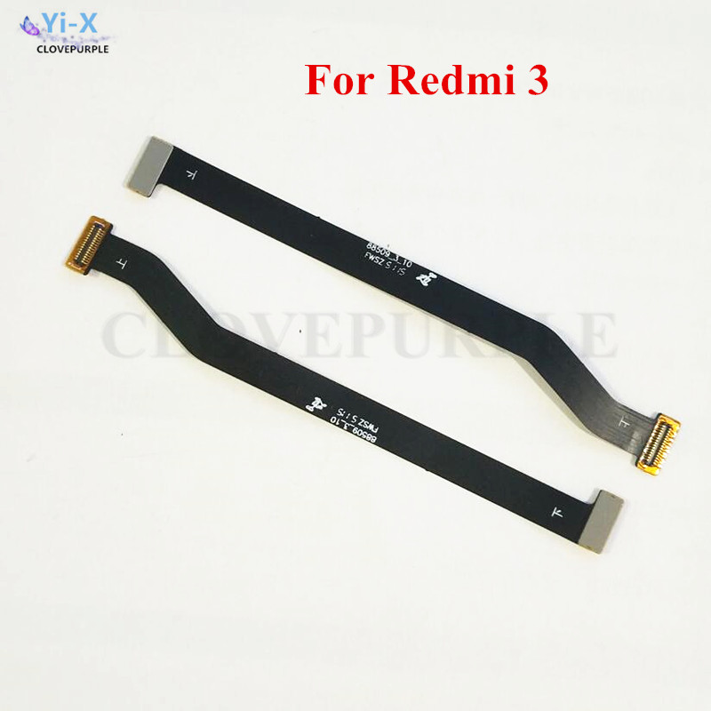 1PCS Main Board Connector Ribbon Cable For <font><b>Xiaomi</b></font> <font><b>Redmi</b></font> <font><b>3</b></font> <font><b>Motherboard</b></font> Flex Cable Repair parts for Redmi3 image