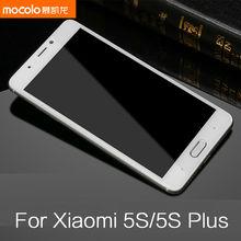 New Mocolo Full Cover Tempered Glass for Xiaomi 5S Mi5s Plus Premium Glass Anti-Explosion Screen Protector for Mi Mi5s 5S Plus