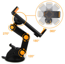 Dashboard Suction Tablet GPS Mobile Phone Car Holders Adjustable Foldable Mounts Stands For Huawei Y5II Y5 2 Y3II Y3 2 Mate S2