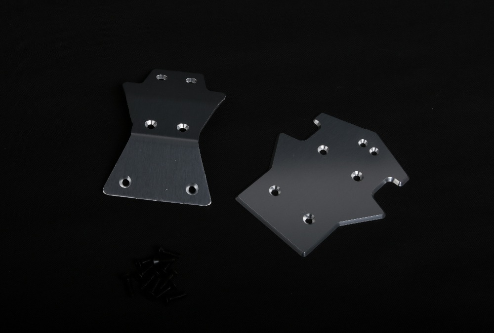 CNC metal front and rear guard plate Fit For 1/5  Losi 5IVE-T ROVAN LT gtbracing 2 front and 2 rear wheel hub rim with beadlock ring for 1 5 losi 5ive t rovan lt km x2