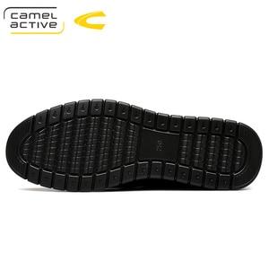 Image 4 - Camel Active 2019 PRIMAVERA/otoño nueva marca de lujo de cuero genuino de los hombres zapatos casuales de cuero de vaca de los hombres de banquete partido Formal mocasines