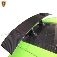 Hot Sale Bottom Price Carbon Fiber Rear Spoiler Rear GT Wing For Lamborghini Gallardo LP550 LP560 LP570 2004 - 2012