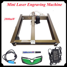 2800mW Large Area 300*230mm Mini Laser Engraving Machine Laser Cutting Machine Laser Cut Printer DIY Marking Machine