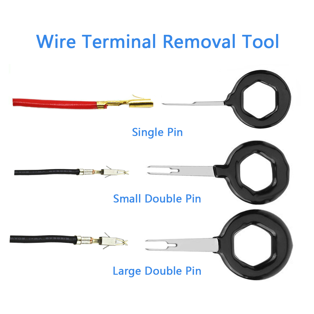 Terminal Removal Tool Car Repair Tool Electrical Wiring Crimp ...