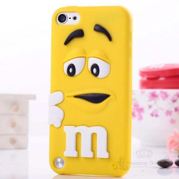 NEW Fashion fragrant Sweet Silicone Cute Rubber Soft Case Cover