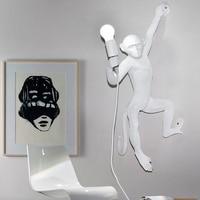 Nordic Modern Resin Monkey E27 Led Wall Lamp Creative Monkey Living Room Led Wall Light Bedroom Wall Lighting