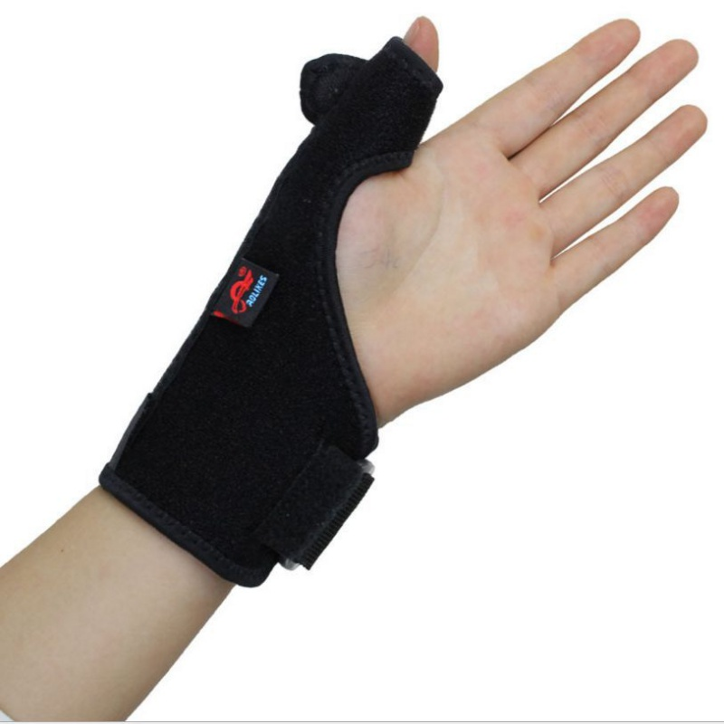 Professional 1 pcs Thumb Stabilizer Wrist Brace Support Joint Pain Arthritis Relief Strap Wrap for Gym Exercise 2018