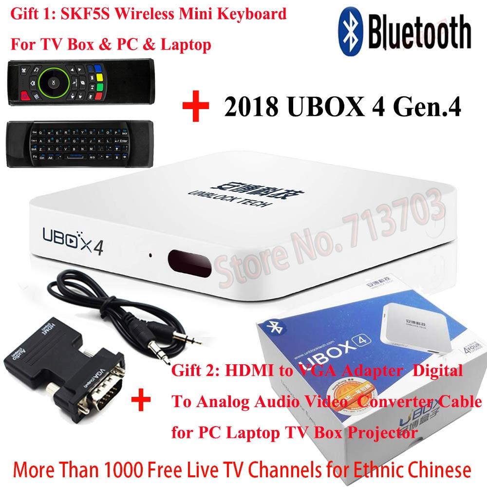 2019 IPTV DÉBLOQUER UBOX 4 Gen.4 UBOX4 S900 16 gb & C800 8 gb Android TV Box Bluetooth Pas Besoin cotisation annuelle pour TV Téléphone Pad Ordinateur
