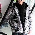 2017 men's clothing new arrival artificial de pele de raposa casacos de pele de moda térmico masculino outerwear casual, homens casaco de inverno com pele