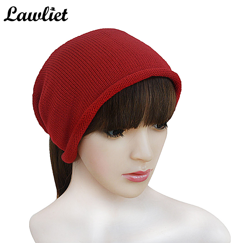 Women Skullies Winter Autumn Wool Knitted Crochet Scarf &Autumn Winter Hats for Women Headwrap Hat Cap Gorros Beanies skullies 2017 new arrival hedging hat female autumn and winter days wool cap influx of men and women scarf scarf hat 1866729