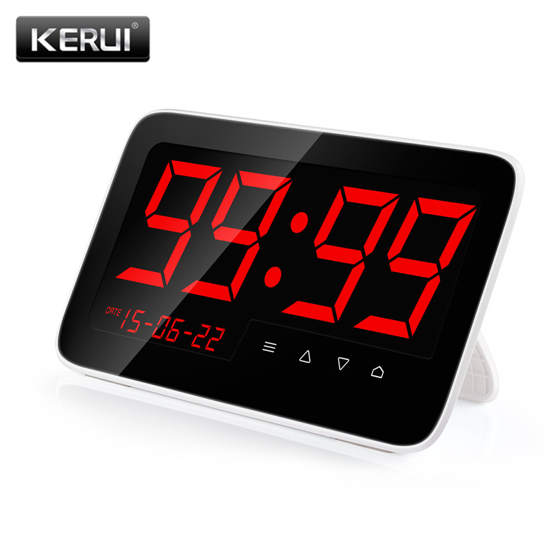 KERUI 2 in 1 Restaurant Calling Pager System Meal Taker Touch button 433MHz Wireless Call System Voice Report Can Add 999 Button цена