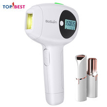 ICE Cool Laser Epilator Permanent Hair Removal 360,000 Pulses Home Facial Body for Household with Free Gift