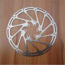 Centerline тормоза стальной диск MTB дорога складной Bike180mm Шесть отверстие велосипед проигрыватели дисков тормоза велосипеда 7-дюймовый тормозной диск Hs-1