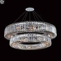 gold Chandeliers European modern upscale hotel bedroom lamp lamp corridor lamp crystal lamp 91cm W x 20cm H