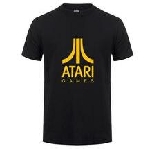 0a03bfb48 Hot Summer ATARI T Shirt Fashion Short Sleeve O Neck Men T-Shirt Cool  Printed