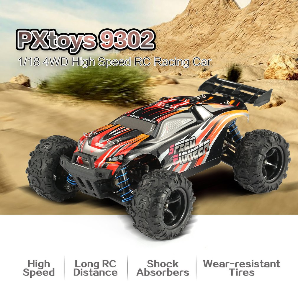 PXtoys 9302 1/18 4WD RC Car With Off-Road Buggy Vehicle High Speed Racing Car For Pioneer RTR Monster Truck Remote Control Toys
