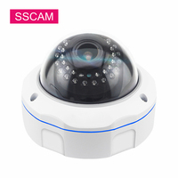 4MP Varifocal CCTV AHD Camera Full HD Dome 30 Meters IR 2.8 12MM Vandal Proof Infrared Surveillance Home Security Analog Camera