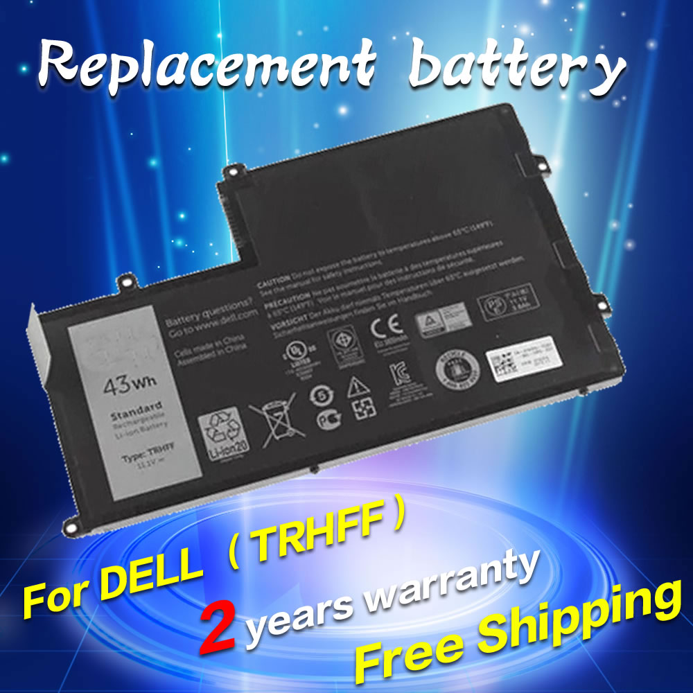 цены  For Dell Inspiron 15 5000 15 5547 3 CELLS 1V2F6 TRHFF 01v2f6 Laptop Battery for Latitude 3450 for Vostro 14-5480D