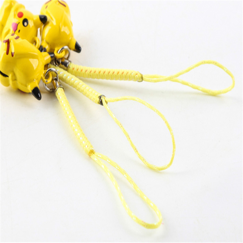 1Pcs-Cartoon-Kawaii-Pokemon-Pikachu-Elf-Ball-Keychain-Keyring-Bell-Toy-Lover-Key-Chain-Rings-For (3)