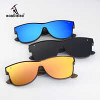 BOBO BIRD Gafas De Sol De marca De lujo cuadradas polarizadas Gafas De Sol De madera Gafas De conducción UV400 Gafas De Sol Gafas