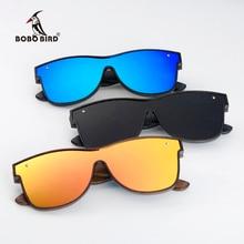 ボボ鳥サングラス男性ブランドの高級正方形偏木材サングラス駆動眼鏡UV400 oculosデゾルgafas