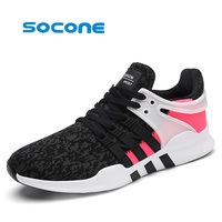 2017 Hot Section Men S Sports Shoes Light Elastic Tennis Shoes Flying Needle Technology