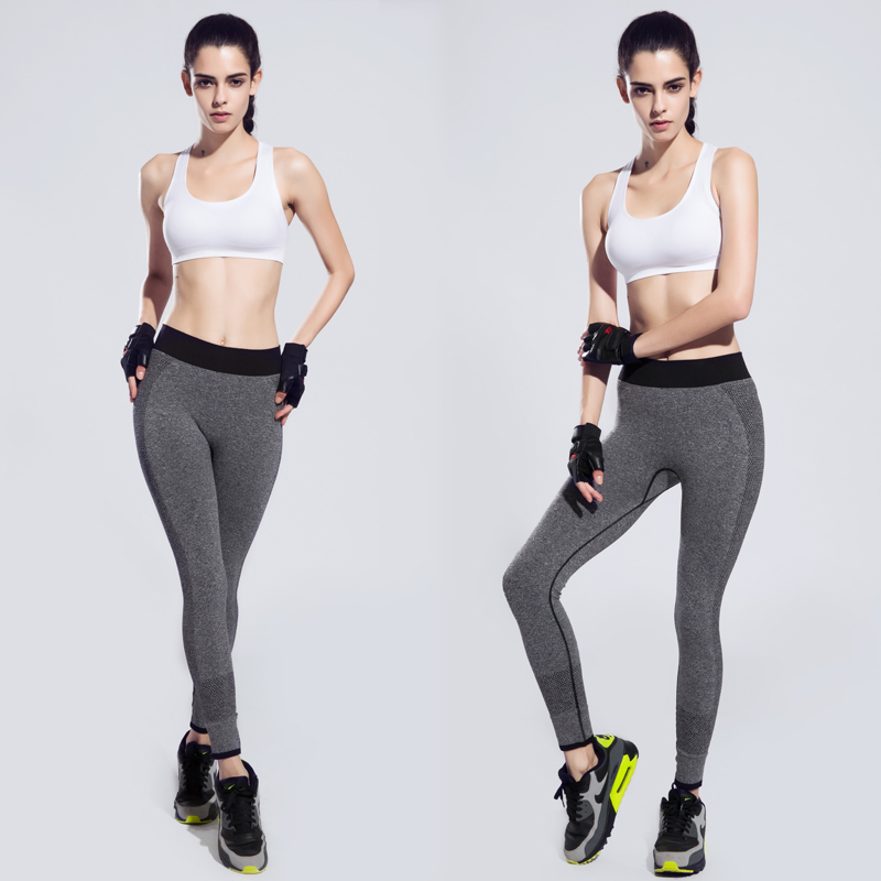 a818be83ee142 New Move Brand Sex High Waist Stretched Sports Pants Gym Clothes Spandex Running  Tights Women Sports Leggings Fitness Yoga Pants-in Yoga Pants from Sports  ...